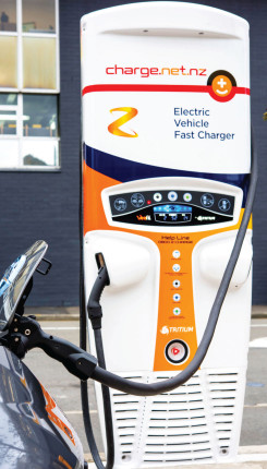 Z Electric Vehicle Fast Charger